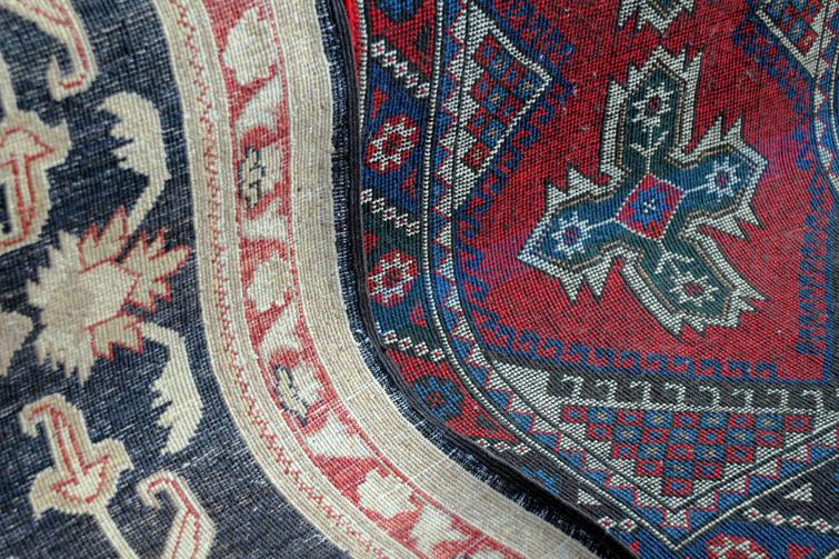 Tyrkisk teppe. Foto