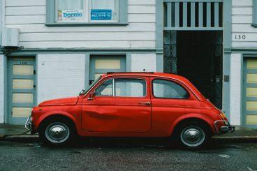 Rød bil