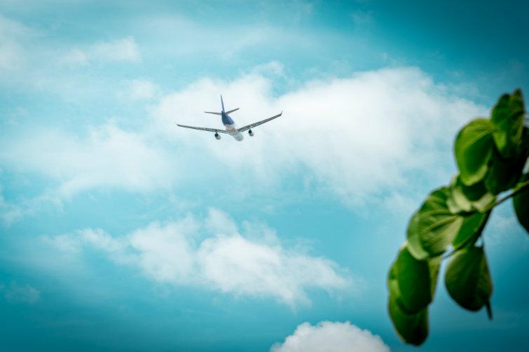 Bilde av fly. foto.