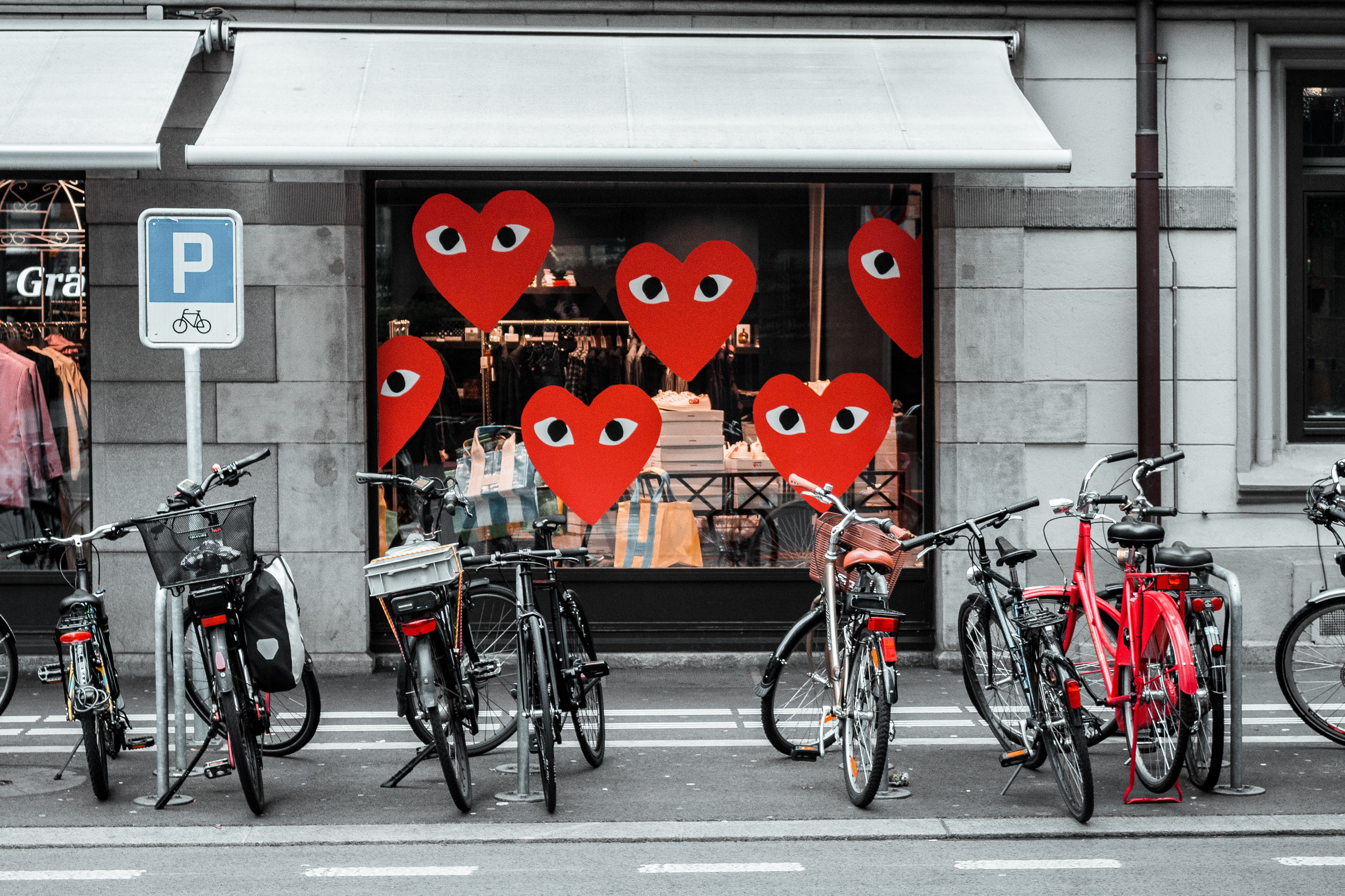 Sykler og hjerter
